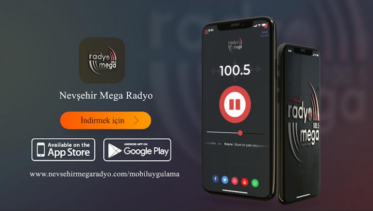 Nevşehir Mega Radyo Mobil Uygulaması Sizlerle!